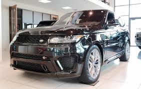 land rover range rover 2016 black 2016 range rover sport svr exhaust full review youtube