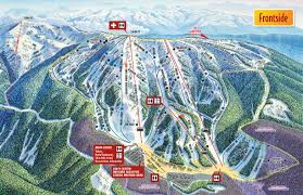 World Map With Mountain Ranges by Trail Maps U0026 Mountain Stats Brundage Mountain Resort