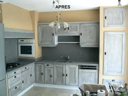 comment repeindre des meubles de cuisine peinture meuble cuisine chene les cuisines de claudine racnovation