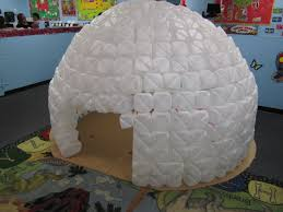 best photos of igloo craft ideas cardboard igloo ornament diy