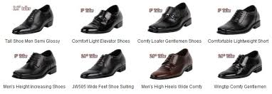 Wide Comfortable Dress Shoes Height Increasing Elevator Shoes With Shoe Lifts U0026 High Heels For