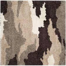 dark brown square square 1 u0027 6 u0027 area rugs rugs the home depot