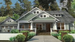 image result for bungalow home plans craftsman style