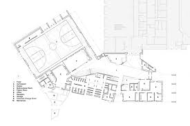 Recreation Center Floor Plan by North Delta Recreation Centre Shape Architecture