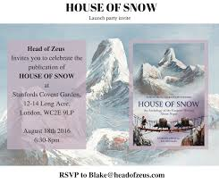 book of the week house of snow head of zeus
