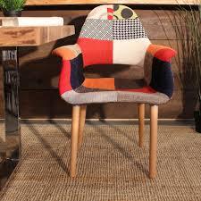 eames u0026 saarinen patchwork organic chair u2013 wazo furniture