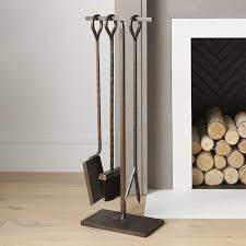 Unique Fireplace Tools by Fireplace Screens Tools And Accessories Crate And Barrel