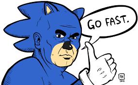 Sonic Gotta Go Fast Meme - someone else s dump album on imgur