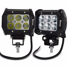 go lights for trucks safego 2pcs 18w spot beam led work light 12v 24v trucks car light