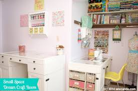 sew can do making a dream craft room in a small space
