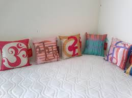 Pillow Designs by Pillow Designs With The Theme Of The Gayatri Mantra By Pooja