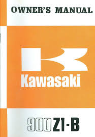 1975 kawasaki 900 z1 b owner u0027s manual u2022 74 95 picclick