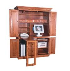 Computer Armoire Computer Armoire Desk Cabinet Home Design Ideas