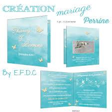 faire part mariage theme mer le d efdc by so scrap le faire part mariage de perrine et