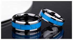 wedding rings his and hers matching sets his s matching tungsten carbide wedding bands with beveled