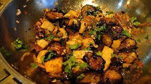 site de recette cuisine recette d aubergines et tofu aigre doux du site ricardo cuisine