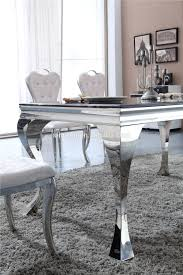 sale modern marble top stainless steel dining table set marble