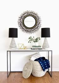 Entry Console Table With Mirror Best 25 Marble Console Table Ideas On Pinterest West Elm