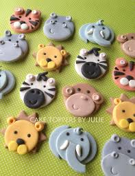 safari cake toppers animal cupcake decorations search baking