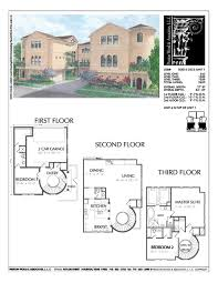 narrow lot house plans houston 33 best townhome floor plans and elevations images on pinterest