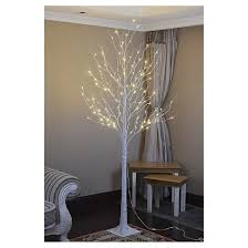 lightshare 8 led birch tree decoration light warm white lights