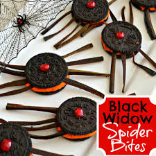black widow spider bites perfect for avengers parties or halloween