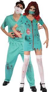 Surgeon Halloween Costume Couples Zombie Surgeon Fancy Dress Costume Fancy Limited