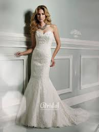 lace strapless wedding dresses