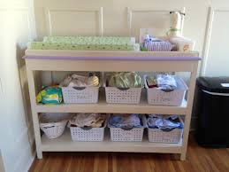 Changing Table Accessories Building A Changing Table Frugal Living