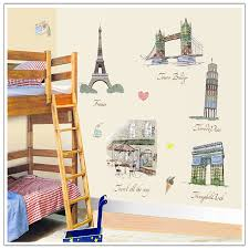 compare prices on wall sticker buildings online shopping buy low hot sale wall sticker building stickers decor diy wallpaper art decals design house decoration china