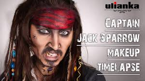 she made herself into captain jack sparrow from the pirates of the