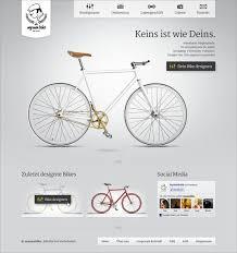 homepage designen web and user interface design for myownbike by dietaikonauten
