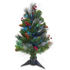 tree company 2 ft fiber optic crestwood artificial tree