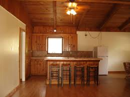 cool image of rustic cabin kitchens decoration using rustic solid