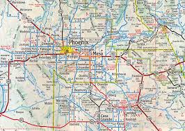 Map Of Arizona Cities by Rogue Columnist Phoenix