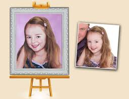 photo to painting service at love custom art offers the newly