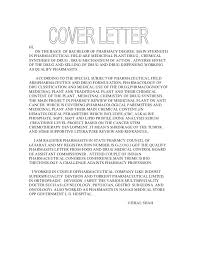 cover letter for internship in pharmaceutical industry 28 images
