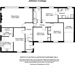 Piggery Floor Plan Design by 5 Bed Equestrian Property For Sale In Jelliston House And Cottage