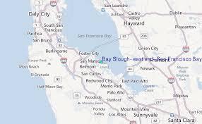 san francisco map east bay bay slough east end san francisco bay california tide station