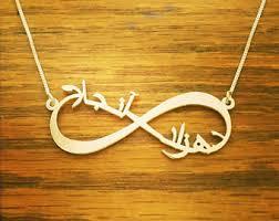 arabic name necklace arabic name necklace etsy