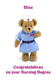 Congratulations Nurse Card Personalised A5 Nurse Degree Congratulations Card Any Relation Job