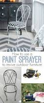 Best Way To Paint Metal Patio Furniture How To Use A Paint Sprayer To Revive Outdoor Furniture Atta