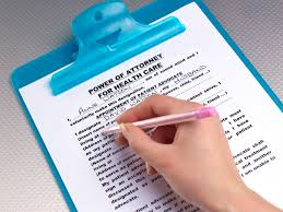 Texas Power Of Attorney Form by Activating A Durable Power Of Attorney For Healthcare