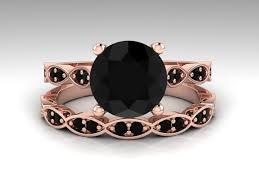 Black Diamond Wedding Ring Sets by Best 20 Black Diamond Wedding Sets Ideas On Pinterest Black