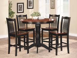 tall dining tables small spaces kitchen marvelous black dining table and chairs for interior
