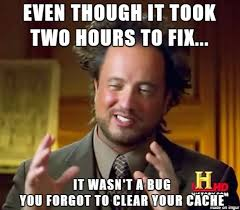 Fix It Meme - classic bug fix meme on imgur