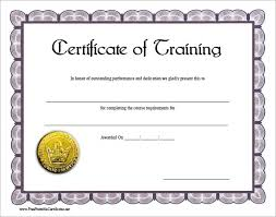 certificate of completion free template word 6 free training certificate templates excel pdf formats