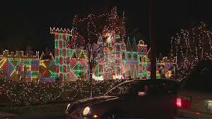 woodland hills christmas lights candy cane lane christmas displays not a merry sight for some cbs