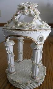 lillian cake topper wedding cake topper resin gazebo cake topper by lillian