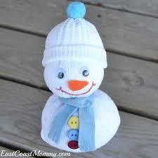Diy Sock Snowman East Coast Mommy Spare Sock Snowman